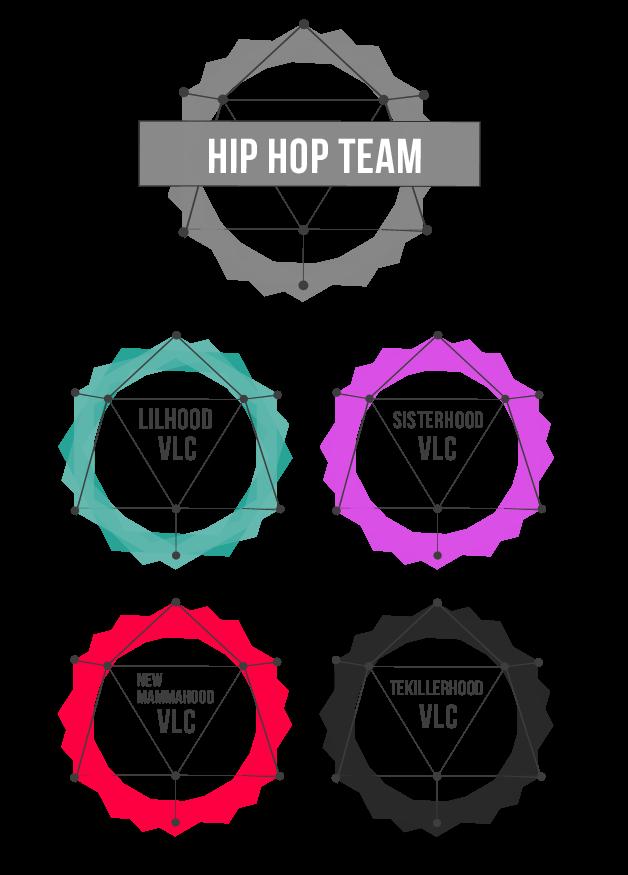 equipo de competición de hip hop - escuela de danza stardanze