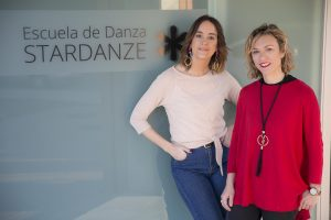 Dos de las fundadoras de Stardanze